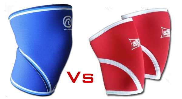 SlingShot vs Rehband knee sleeves