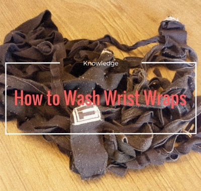how to wash wrist and hand wraps