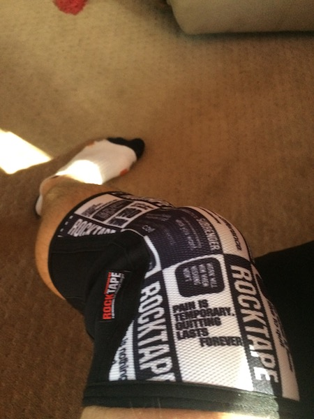 Wearing Rocktape assassins 5mm