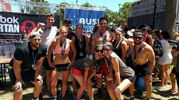 Spartan race Group picture