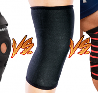 Knee Sleeves vs Knee Wraps vs Knee Braces – What is the difference?