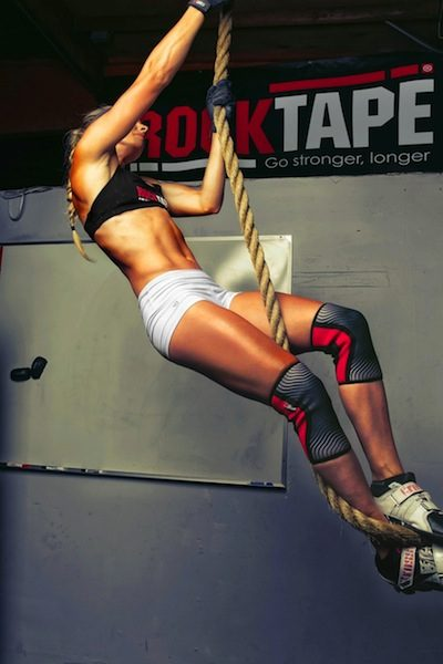 Rocktape chick in action