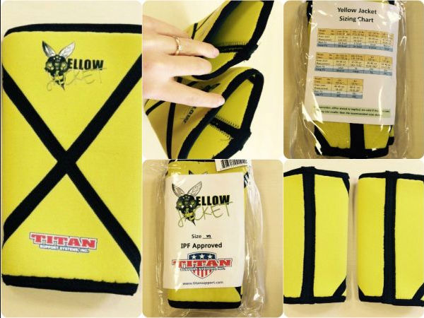 Yellow Jacket Sleeve Packaging