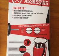 Back of Assassin sleeves box